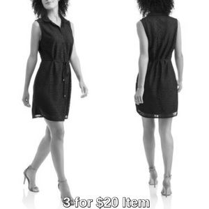 Dresses & Skirts - Low Stock! Medallion Print Lace Dress, Black